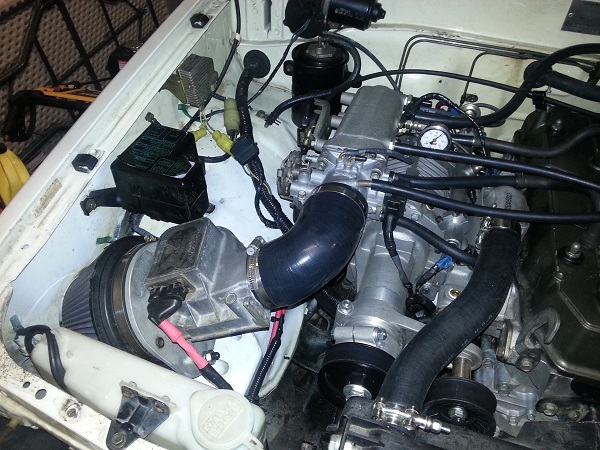 Super chargers & turbos used for rock crawling and offroad
