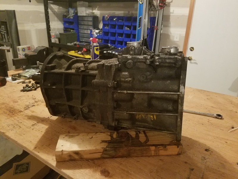 Rebuilding a R151 with lots of pics.
